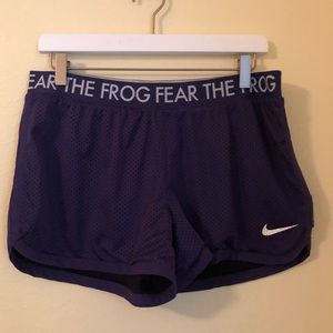 TCU Dry fit shorts